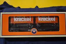 Lionel 6-26693 Krackel Flatcar with Piggyback Trailers - NEW
