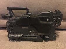 Sony DXC-D35 Professional Video Camera w/CA-TX7 - No Lens Or Eyepiece