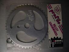Profile 47t Ripsaw BMX Sprocket Chainwheel Silver New Logo NOS USA Made