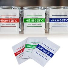 3X PH Buffer Solution Powder PH Test Meter Measure Calibration 4.01 6.86 9.18