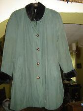 manteau vert femme taille 42
