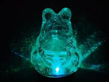 SOLAR STAKE GARDEN LIGHT FROG BRAND NEW WITH TAGS ***BEAUTIFUL***