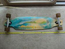 """Vintage Sector 9, Wave, complete 41"""" longboard, skateboard. GullWing trucks."""