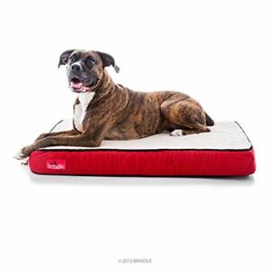 Memory Foam Dog Pet Bed Waterproof Cozy Cushion High Density Support Warm Large