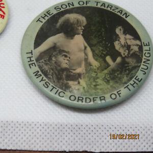The Son of Tarzan advertising  mirror 1920 very rare promo National film Corp