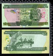 "Iles Salomon : 2 Dollars 1997 ""Neuf"""