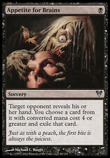 4x Appetite for Brains Avacyn Restored MtG Magic Black Uncommon 4 x4 Card Cards
