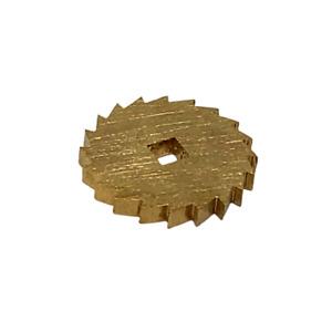 Brass Ratchet Click Wheel for Antique Mechanical Clocks - 15mm-17mm Clock Repair