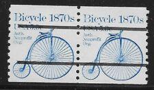 Stati Uniti Scott# 1901a, Bobina Paio 1982 Bici 5.9c FVF Nuovo senza Linguella