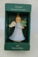 1979 Goebel Annual Angel Ornament Second Edition - Nib