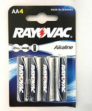 BRAND NEW Rayovac Alkaline Batteries AA LR6 - 4 Pack