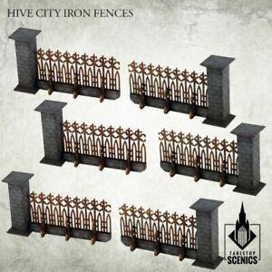 Hive City Iron Fence Kromlech Hdf Tabletop KRTS067