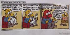 DESSINS de PRESSE - CHARB la semaine de CHARB 2014 -  ref. 5168