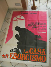 MANIFESTO,La casa dell'esorcismo,MARIO BAVA,HORROR,SAVALAS,SOMMER,KOSCINA 1975