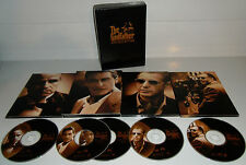 EX CONDITION The Godfather Trilogy 5-Disc DVD Collection 2001 w/ Slipcase NICE!
