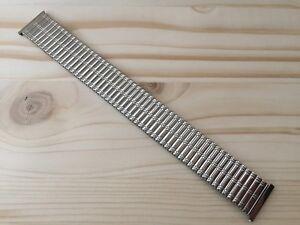 """Armis / Bracelet Montre Type Fixoflex-Speidel 20MM Acier """" Vintage 1960-1970 """""""