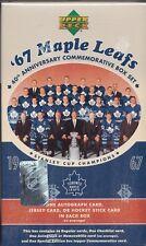2007 Upper Deck Toronto Maple Leafs 1967 40th Anniversary Commemorative Box Set