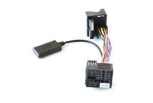 Bluetooth Aux in Adapter Quadlock musik stream passend für vw rcd510 rns510 mp3