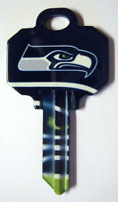 NFL SEAHAWKS BLANK HOUSE KEY FOR 5 PIN SCHLAGE SC1 CAN BE PUNCHED TO YOUR CODE