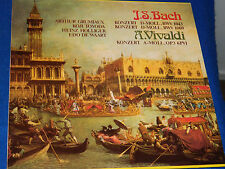 LP Bach vivaldi A-MOLL BWV 1043-1060 grumiaux TOYODA holliger DE WAART konzert