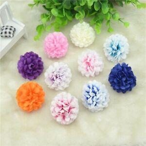 10Pcs Artificial Silk Rose Flower Heads Wedding Home Party Decoration DIY 4.5cm