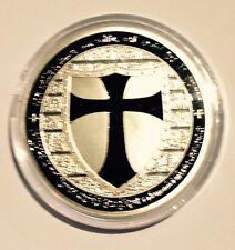 Templar Knights Cross-Part of set of 14 (T4 BLACK/SILVER)