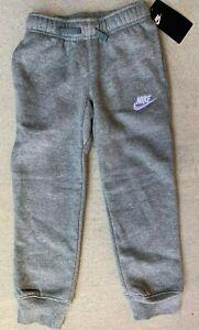 Nike little boys Club Fleece Cuffed Jogger Pants Grey 86B252 size 4