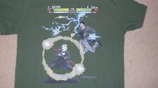 TESLA vs. EDISON Inventor Battle T-Shirt Genius Men Size MED Electricity AC DC