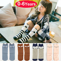 Newborn Baby Toddler Knee High Cotton Cute Long Sock Boy Girls Leg Warmers Socks