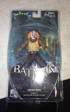 "DC Comics Batman Arkham City Series 3 7"" Clown Thug A with Bat Action Figure"