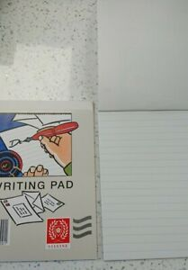 Writing Pad Ruled White Silvine 18 Leaves Duke 175mmx135mm -Ideal for letters