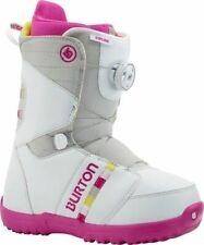 2015 Burton Zipline BOA Gray/Pink Size 7.0 Junior Snowboard Boots