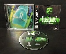 OverBlood (Sony PlayStation 1, 1997) PS1 Complete