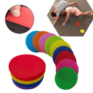 Round Carpet Marker Spot Sit Markers For Classroom Sport Easy Teach Tools @I