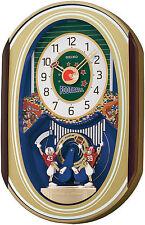 SEIKO Football Wall Clock Melodies in Motion QXM259SRH Retail$325 100% Brand New