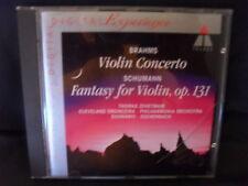 Brahms - Violin Concerto / Schumann - Fantasy For Violin -Zehetmair / Eschenbach