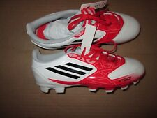 Womens ADIDAS F-50 soccer shoes cleats  sz 7.5 white black & red NWT