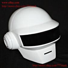 1:1 Custom Halloween Costume Mask Thomas Bangalter Daft Punk Helmet -white MA176