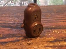 VINTAGE/ANTIQUE BAKELITE  SWITCH WITH 3 OUTLETS