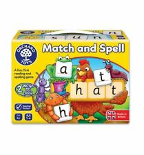 Orchard Toys 218 Match & Spell Next Steps Reading Spelling Language Game 5yrs
