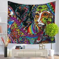 Wandteppich Art Wandbehang Mandala Bohemian Hippie Psyschedelisch Tischdecke