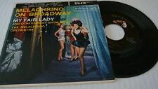 Melachrino on Broadway: My Fair Lady, EPA-876 RCA 45rpm Cardboard sleeve