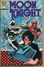 Moon Knight #33-1983 vf- 7.5 Bill Sienkiewicz 1st app Joy Mercado