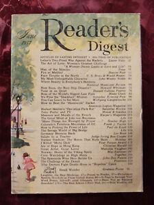 Readers Digest June 1957 Les Paul John Dos Passos Max Eastman Arturo Toscanini
