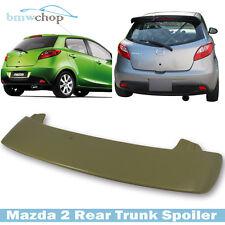 Unpainted For Mazda 2 3rd Hatchback K-Style Roof Visor Spoiler Wing 2014