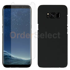 For Samsung Galaxy S8 Case Slim Plastic Protective Cover+LCD HD Screen Protector