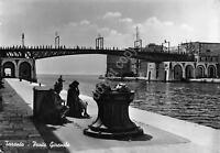 Cartolina Taranto Ponte Girevole 1952