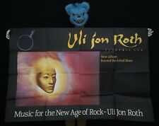 ULI JON ROTH - Affiche album Beyond the astral skies - 1984 - 155 x 102 cm