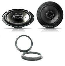 Ford Fiesta MK7 2008 onwards Pioneer 17cm Front Door Speaker Upgrade Kit 240W