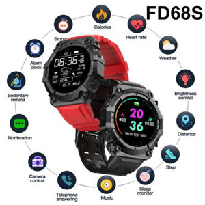 Waterproof Bluetooth Smart Watch Health Tracker Phone Mate For Android IOS